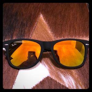 Amber lens sunglasses